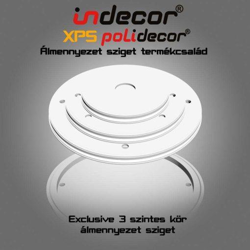 Indecor® 3L-K-150 Kör álmennyezet sziget