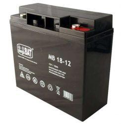 MegaBAT AGM Riasztó akkumulátor 18Ah-12V