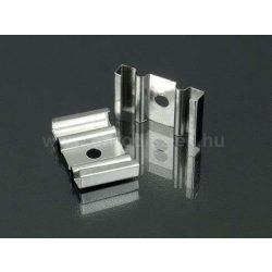 Tartó- rögzítő elem alumínium LED profilhoz