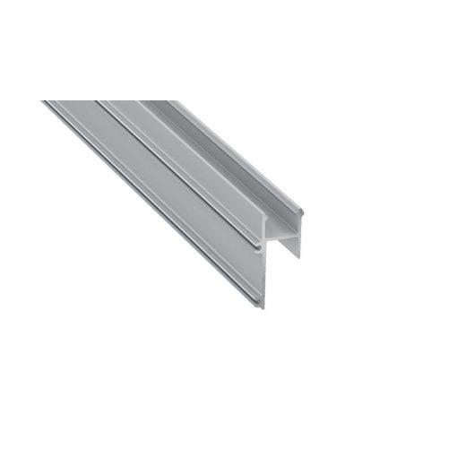 Led Alumínium Profil APA12 1 méter Ezüst