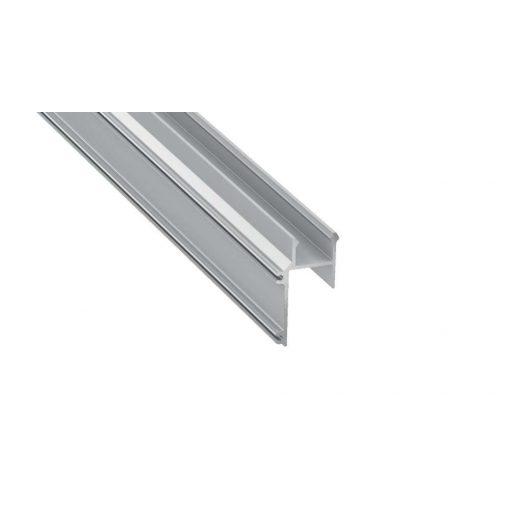 Led Alumínium Profil APA16 1 méter Ezüst
