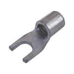 Szigetelés nélküli villás kábesaru 1.5mm2 Ø6mm