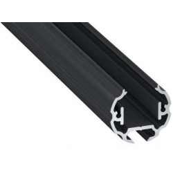 Led profil COSMO Fekete 1 méteres