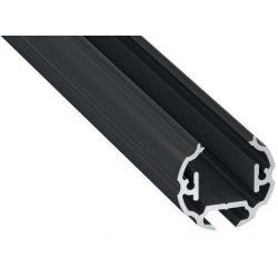 Led profil COSMO Fekete 2 méteres