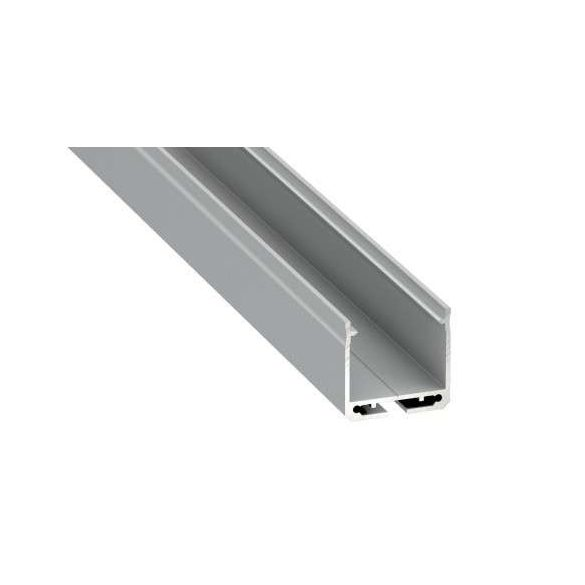 Led Alumínium Profil DILEDA 2 méter Ezüst