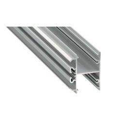 Led Alumínium Profil DOPIO 1 méter Ezüst