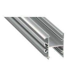 LED Alumínium Profil DOPIO Ezüst 3 méter