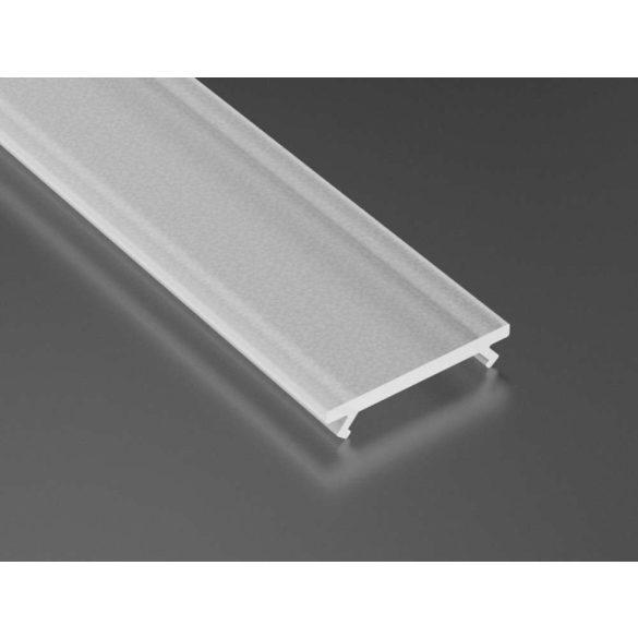 Tejfehér PVC Takaróprofil ECO Profilokhoz 1 méteres