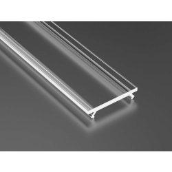 Átlátszó PVC Takaróprofil ECO Profilokhoz 2 méteres