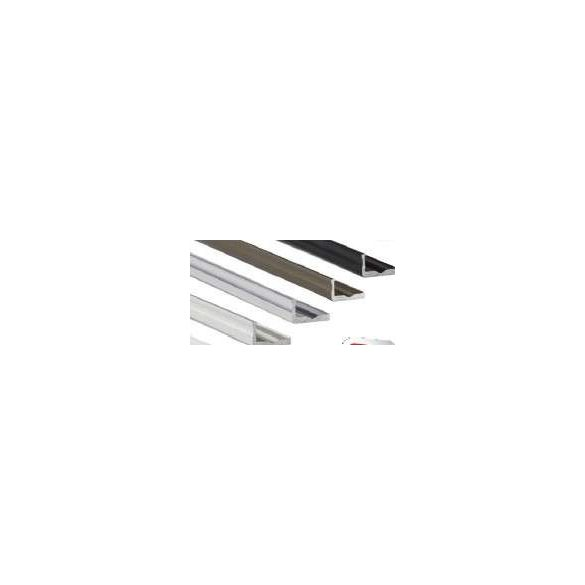 LED Alumínium Profil Keskeny L alakú [F] Natúr 1 méter