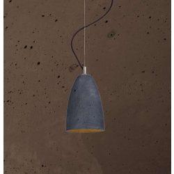FEBE S Beton Lámpa Csokoládé