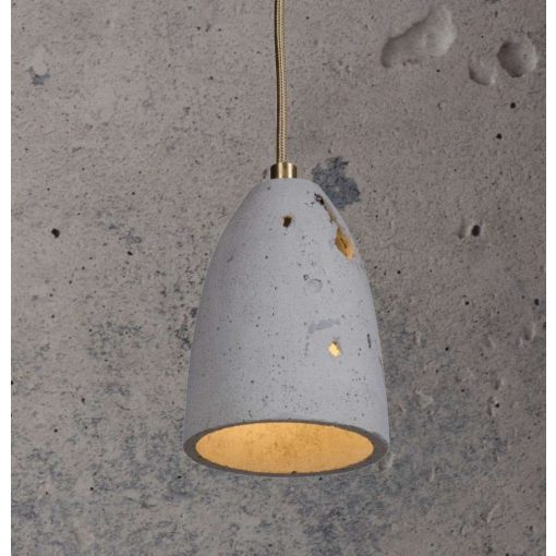 FEBE VOLCANO S Beton Lámpa Szürke