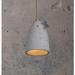 FEBE VOLCANO XS Beton Lámpa Szürke