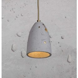 FEBE VOLCANO XS Beton Lámpa Natúr