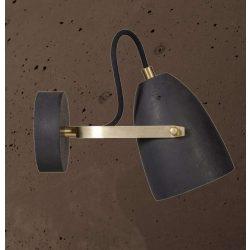 FEBE WALL Fali Beton Lámpa Csokoládé