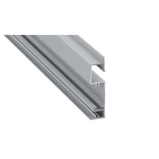 LED Alumínium Profil FLARO Ezüst 3 méter