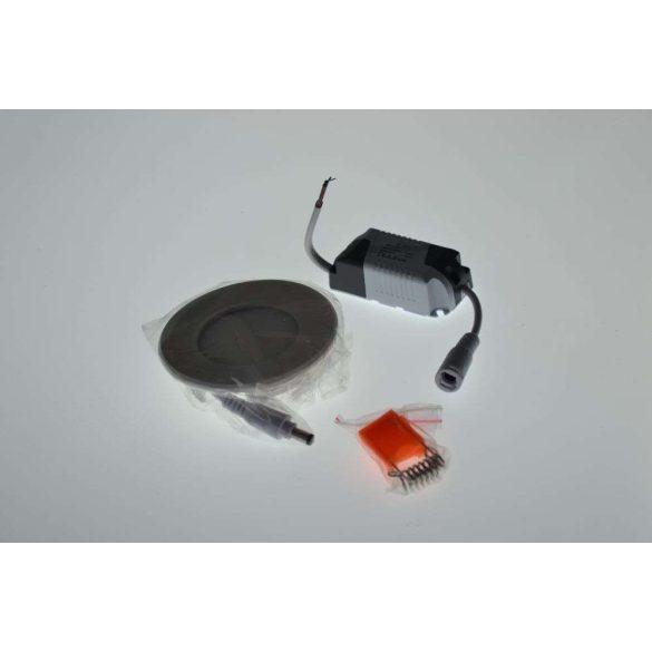 6W MINI LED Panel kör meleg fehér