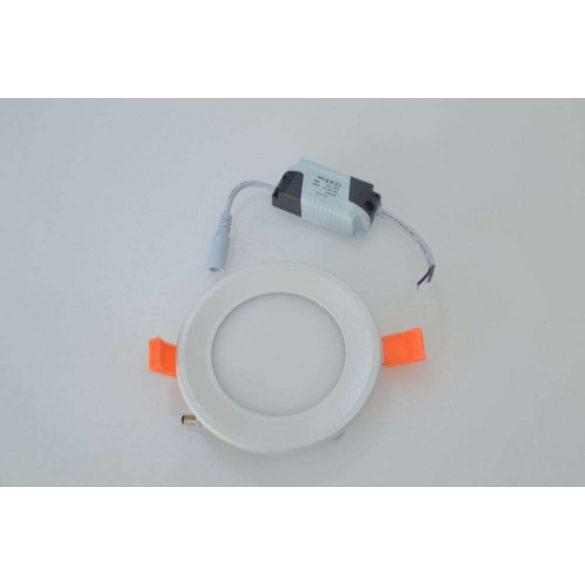 6W MINI LED Panel kör hideg fehér
