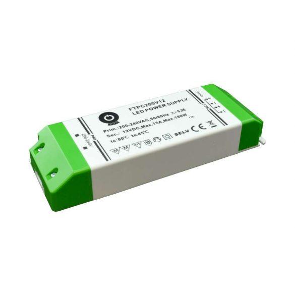 POS Led tápegység FTPC-200-12 180W 15A 12V