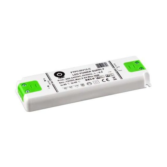 POS Led tápegység FTPC-30-12 Compact 30W 12V 2.5A