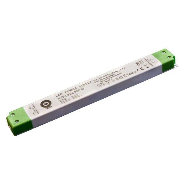 POS Led tápegység FTPC-30-C350 30.1W 40-86VDC 350mA slim