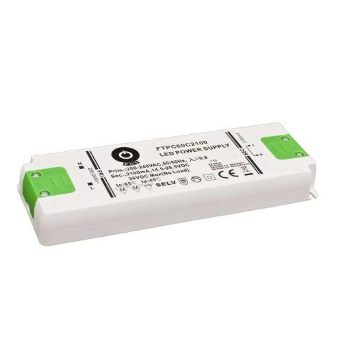 POS Led tápegység FTPC-60-C1050 59.9W 28.5-57VDC 1050mA