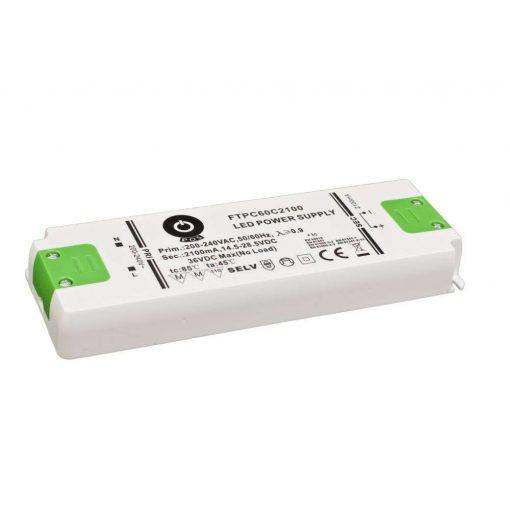 POS Led tápegység FTPC-60-C2100 59.9W 14.5-28.5VDC 2100mA