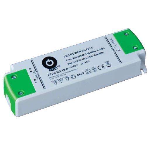 POS Led Tápegység FTPC50V24-D Triac 50W 24V 2.08A
