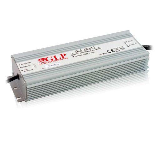 GLP Led tápegység GLG-300-12 300W 12V 25A IP67