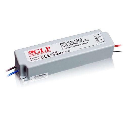 GLP Led tápegység GPC-60-C1050 63W 12-60V 1050mA