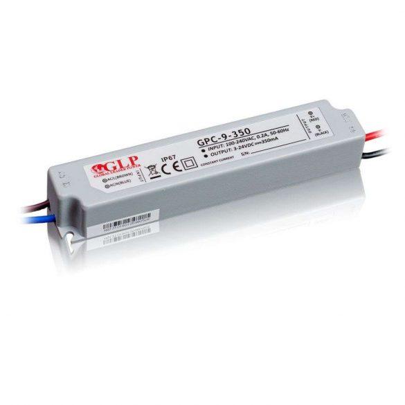 GLP Led tápegység GPC-9-C350 8.5W 3-24V 350mA