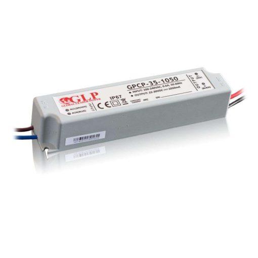 GLP Led tápegység GPCP-35-1050 33.6W 16-32V 1050mA