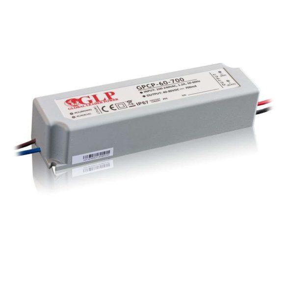 GLP Led tápegység GPCP-60-1250 58.8W 24-47V 1250mA