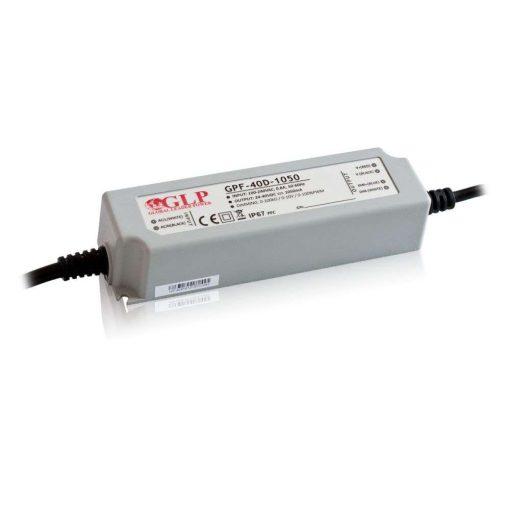 GLP Led tápegység GPF-D40-C1050 dimmelhető 42W 24-40V 1050mA