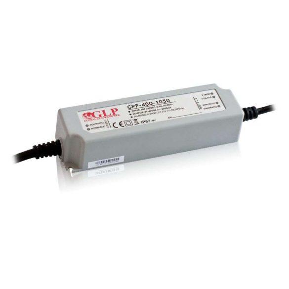 GLP Led tápegység GPF-D40-C350 dimmelhető 42W 72-120V 350mA