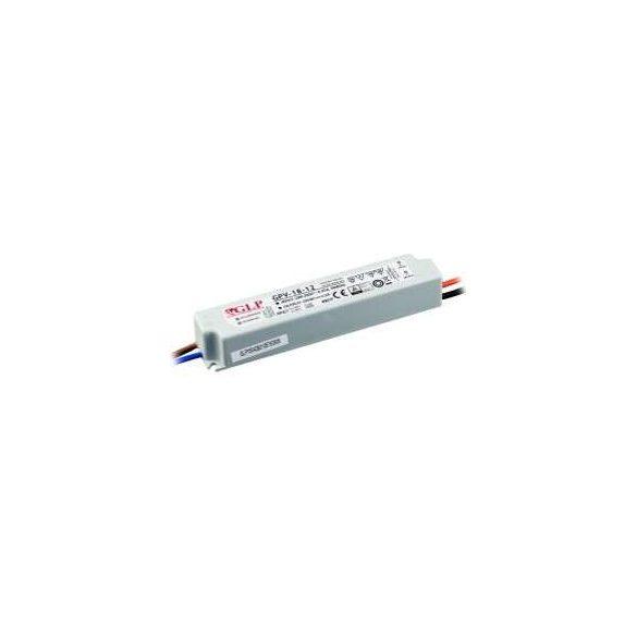GLP Led tápegység GPV-18-24 18W 24V 0.75A IP67