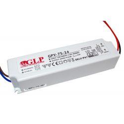 GLP Led tápegység GPV-75-24 72W 24V 3A IP67