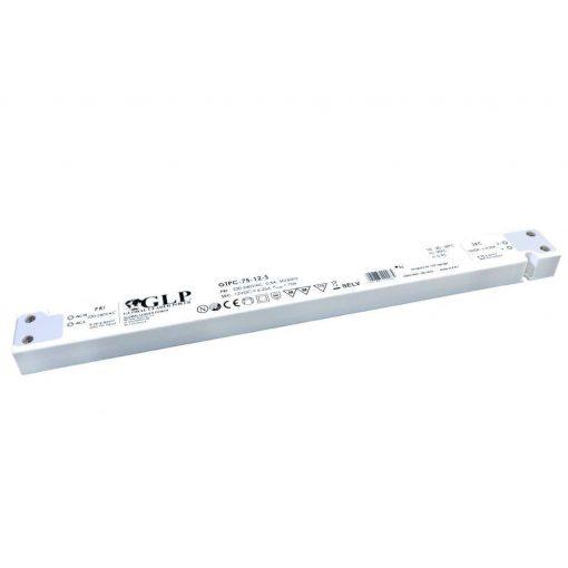GPV Led tápegység GTPC-75-12-S 75W 12V 6,25A slim