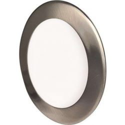 Mini Led Panel VEGA kör lámpa Ezüst keret 18W Meleg fehér
