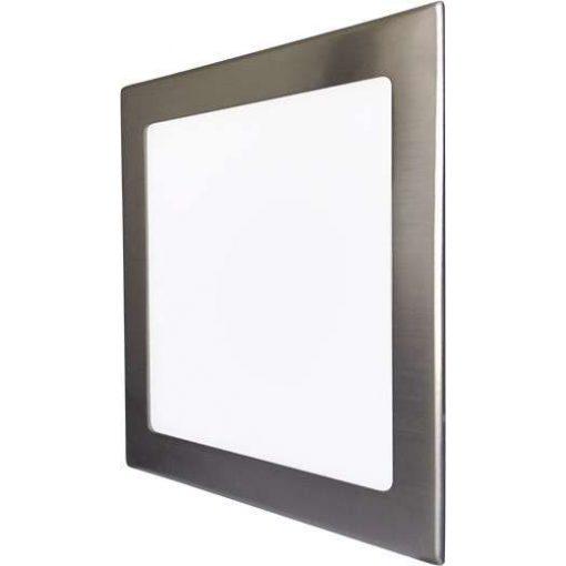 GREENLUX Mini Led Panel VEGA négyszögletes lámpa Ezüst keret 24W Meleg fehér