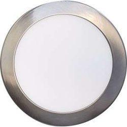 LEDES lámpa FENIX kör Ezüst keret 18W Meleg fehér