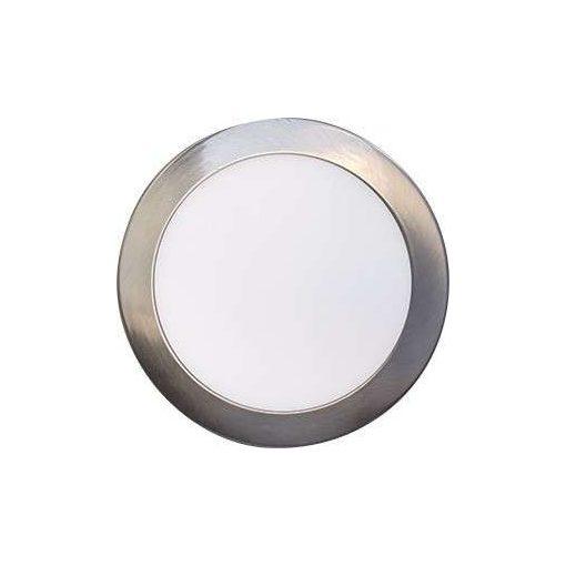 GREENLUX LEDES lámpa FENIX kör Ezüst keret 18W Meleg fehér