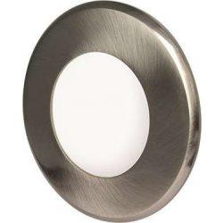 GREENLUX Mini Led Panel VEGA kör lámpa Ezüst keret 3W Meleg fehér
