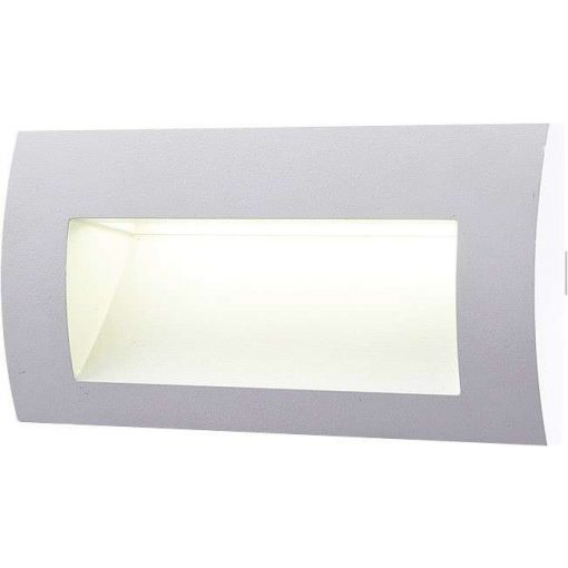 GREENLUX Falba szerelhető LED lámpa 3W Szürke Meleg Fehér