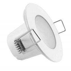 GREENLUX LED beépíthető lámpa kör fehér Kültéri keret 5W Meleg fehér Kültéri