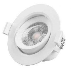 GREENLUX Led beépíthető lámpa JIMMY-R 7W természetes fehér állítható kerek kerettel