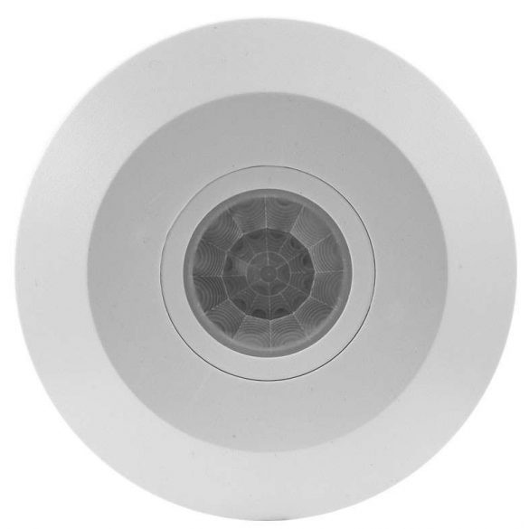 GREENLUX Mozgásérzékelő SENSOR 100 idő és napszak kapcsolóval IP20 Fehér