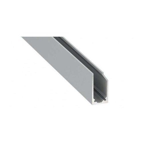 LED Alumínium Profil I6 típus Ezüst 3 méter