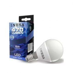 LED izzó E14 5W 160° LED Gömb izzó 6500K G3 470Lm