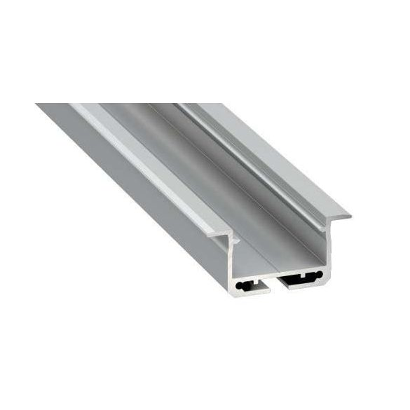 LED Alumínium Profil INSILEDA Ezüst 3 méter